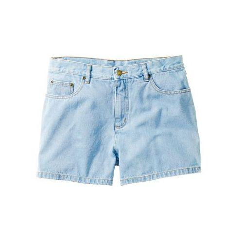 Szorty dżinsowe jasnoniebieski marki Bonprix