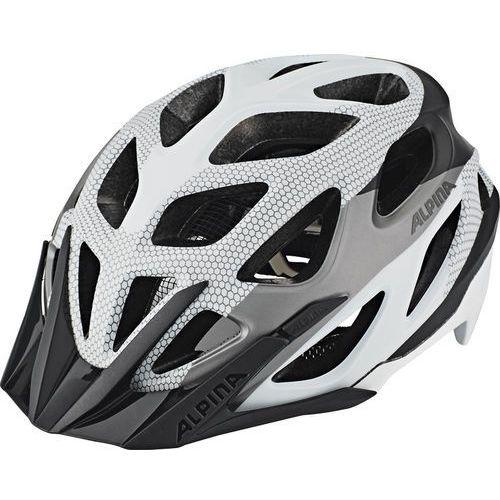 Alpina mythos 3.0 l.e. kask rowerowy biały/czarny 57-62cm 2018 kaski rowerowe
