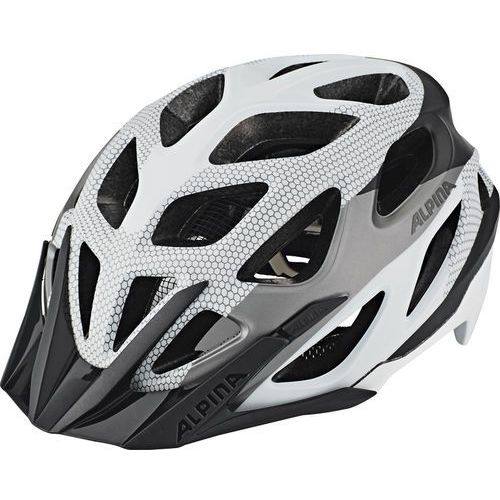 mythos 3.0 l.e. kask rowerowy biały/czarny 52-57cm 2018 kaski rowerowe marki Alpina