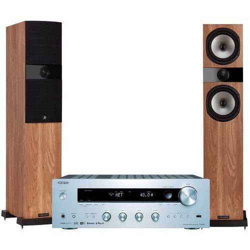 Zestaw stereo ONKYO TX-8250S + FYNE AUDIO F303 Dąb
