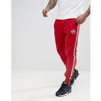 Blend Slim Side Stripe Joggers in Red - Red, w 3 rozmiarach
