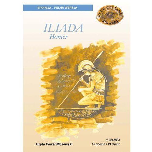 Iliada. Klub Czytanej Książki. Audiobook (1 CD mp3), Homer