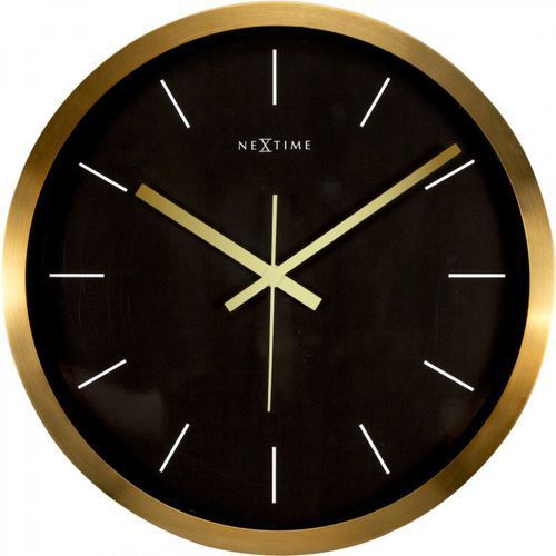 Zegar ścienny 2524 GB Stripe śr. 44cm Nextime (8717713017844)