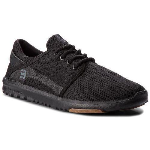 Sneakersy ETNIES - Scout 4101000419 Black/Black/Gum 544, kolor czarny