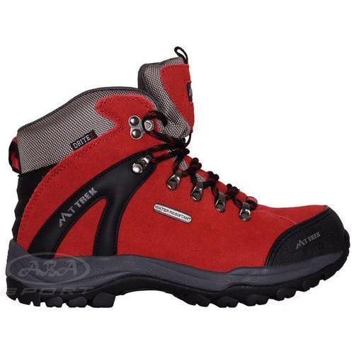 Damskie buty trekkingowe ural - czerwony marki Mt trek