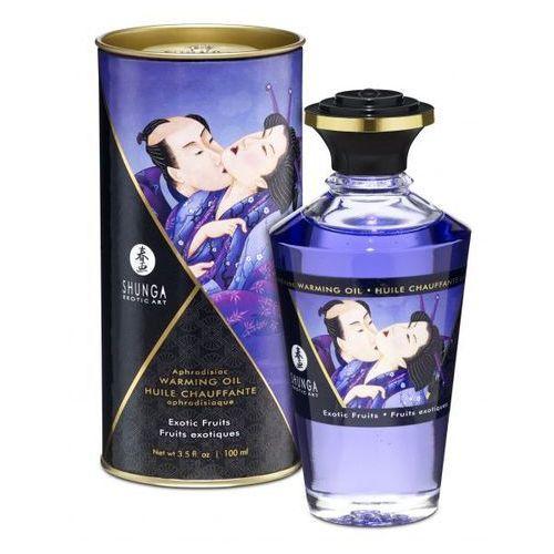 Jadalny olejek aphrodisiac oil egzotyczne owoce 100 ml | 100% dyskrecji | bezpieczne zakupy marki Shunga (can)