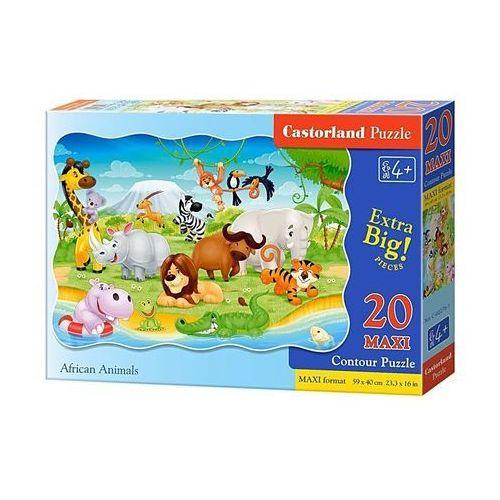Castor Puzzle 12 elementów kitten family (5904438002276)