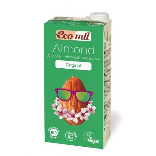 Mleko migdałowe z wapniem słodzone agawą bio 1l marki Ecomil. Najniższe ceny, najlepsze promocje w sklepach, opinie.