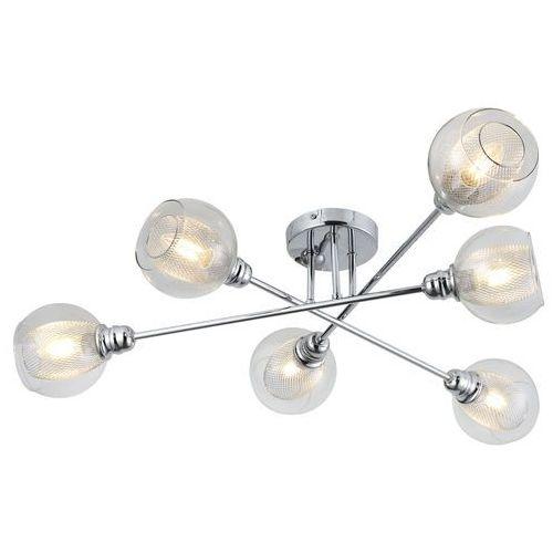 Candellux Plafon lampa sufitowa dixi 6x40w e14 chrom 36-61362