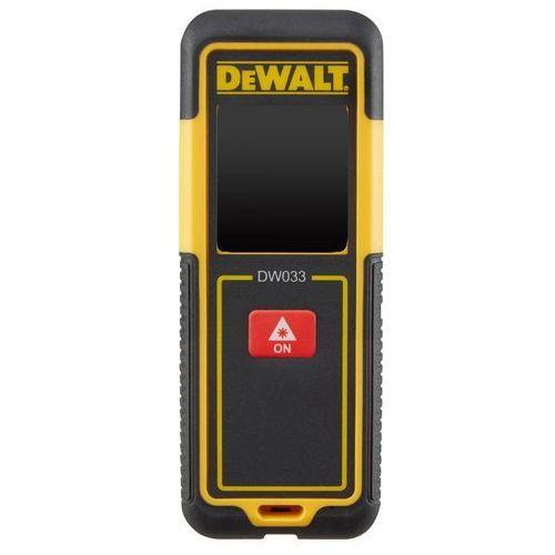 Dalmierz laserowy DEWALT zasięg 30m DW033-XJ- natychmiastowa wysyłka, ponad 4000 punktów odbioru!