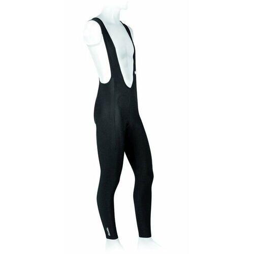 610-30-36_acc-m spodnie rowerowe z szelkami bez wkladki corrado czarne m marki Accent
