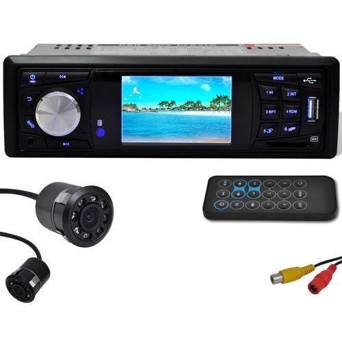vidaXL Radio samochodowe i kamera cofania