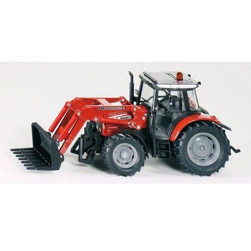 Siku  traktor z przednią ładowarką (4006874036530)