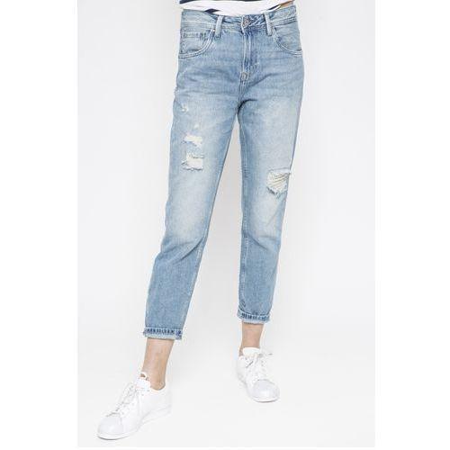 - jeansy violet marki Pepe jeans