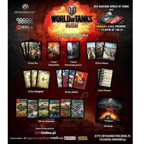 REBEL Gra World of Tanks: Rush PL (5901549927245)
