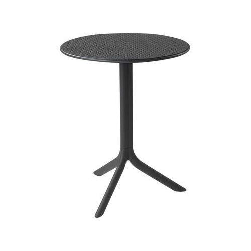 Stół ogrodowy Step Antracite 60,5 cm NARDI