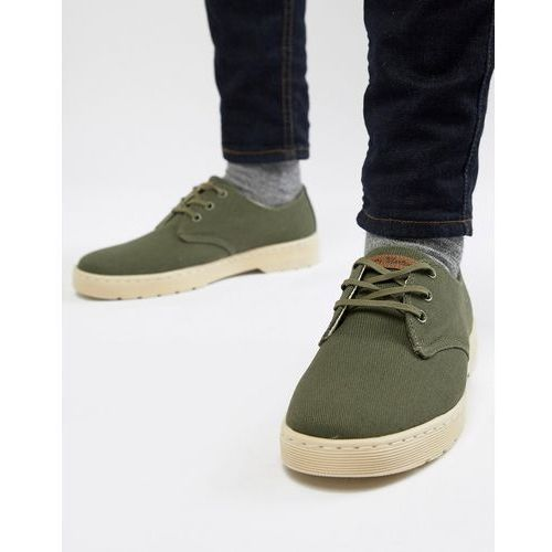 delray overdyed 3-eye shoes in green - green, Dr martens