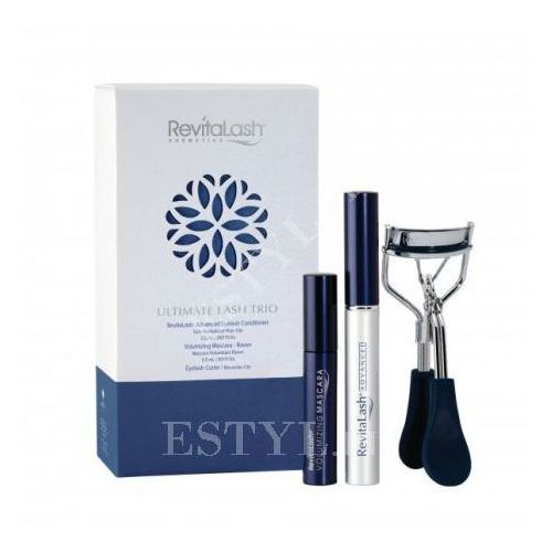 RevitaLash Ultimate Lash Trio | Odżywka 3,5ml, Mascara 3ml, Zalotka