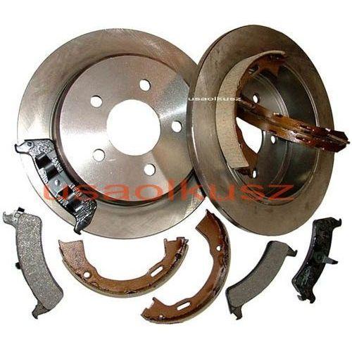 Tylne tarcze klocki oraz szczęki hamulcowe Ford Explorer 1995-2001 z kategorii klocki hamulcowe