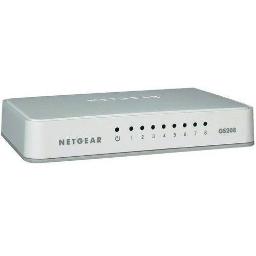 Switch Netgear GS208-100PES, 8 Portów, 1 Mbit/s