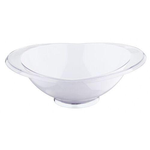 - salaterka glamour 28 cm - biała marki Casa bugatti