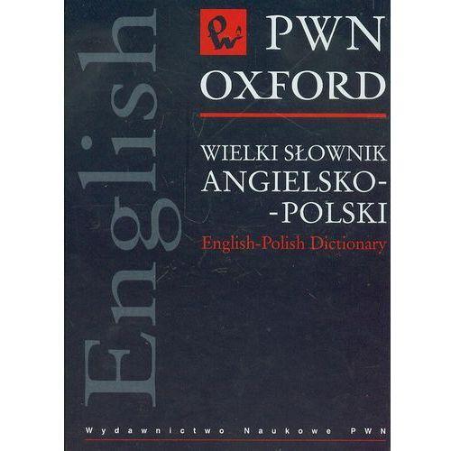 Wielki słownik angielsko-polski PWN z płytą CD, oprawa twarda