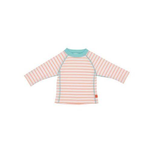 Lässig LÄssig girls splash & fun koszulka do pływania z długim rękawem stripes orange (4042183353388)