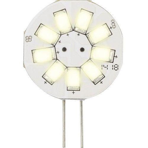 Żarówka LED Sygonix LN-04-9ES-S-30D-WW-00, G4, 1.5 W = 10 W, 133 lm, 3000 K, ciepła biel, 12 V, 35000 h, 1 szt. (4016139052786)