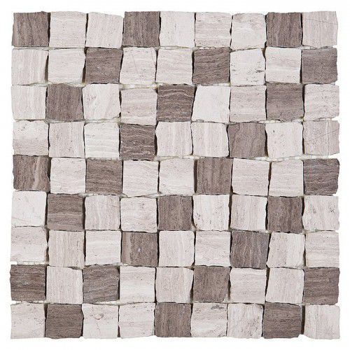 DUNIN Woodstone mozaika kamienna Woodstone Grey Bend 32 Matt