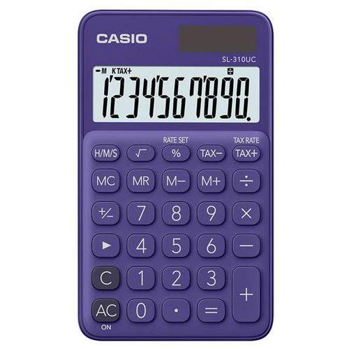 Casio Kalkulator sl-310uc-pl fioletowy (4549526700156)