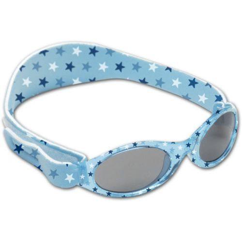Okularki przeciwsłoneczne dooky banz - blue stars marki Brak