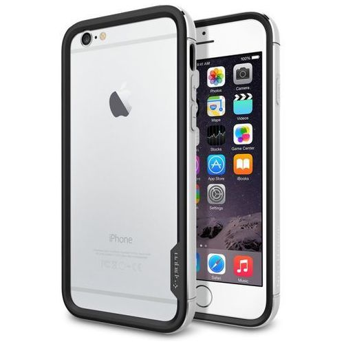 Etui SPIGEN SGP11186 do iPhone 6 (4.7) Srebrny (8809404215117)