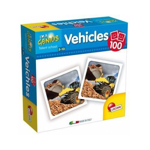I'm genius memoria 100 pojazdów marki Liscianigiochi