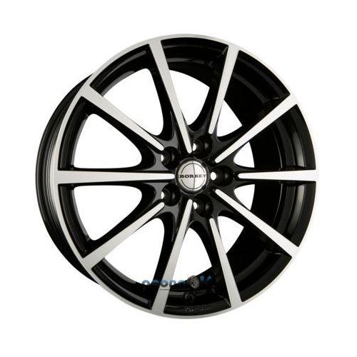 bl5 black polished glossy einteilig 8.00 x 18 et 50 marki Borbet
