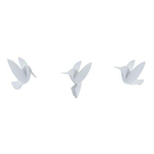 Umbra - dekoracja ścienna hummingbird, 9 szt., biała