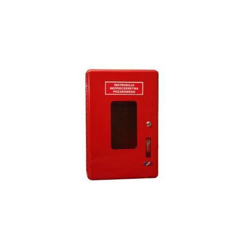 Skrzynka na instrukcję bezpieczeństwa pożarowego