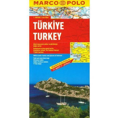 Turcja mapa 1:800 000 Marco Polo