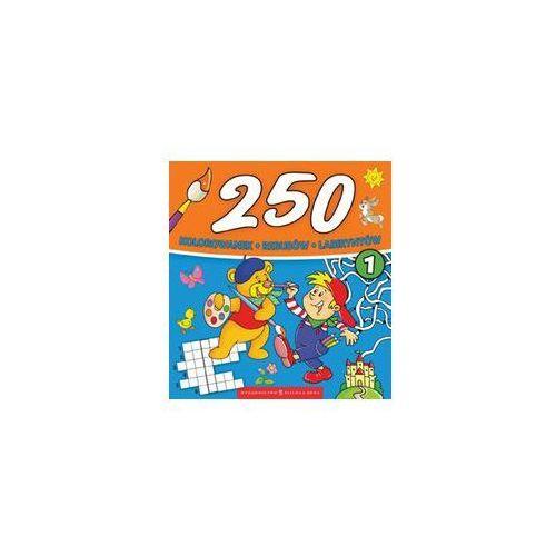 250 kolorowanek część 1, Zielona Sowa