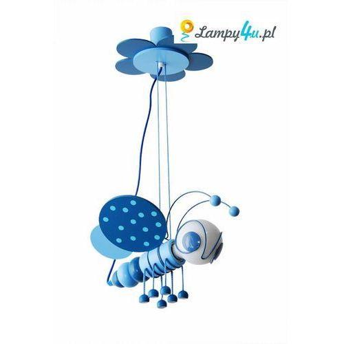 Lampa wisząca PSZCZÓŁKA 1xE27/60W/230V niebieska z kategorii Oświetlenie dla dzieci