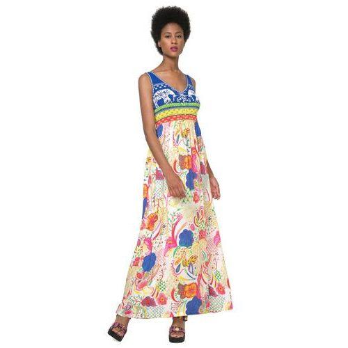 Desigual sukienka damska Quard 40 wielokolorowy