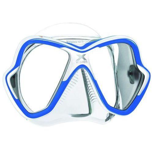 Maska do nurkowania MARES X-Vision 411053 Przezroczysto-niebieski + DARMOWY TRANSPORT!