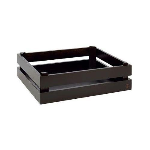 Prezenter bufetowy drewniany GN 1/2 SUPER BOX czarny