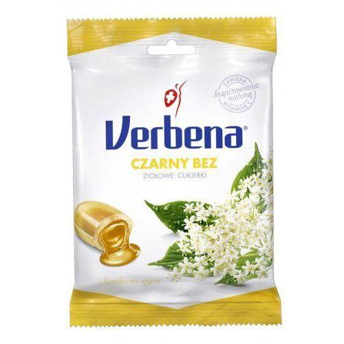 Cukierki ziołowe z czarnym bzem i witaminą C 60 g Verbena