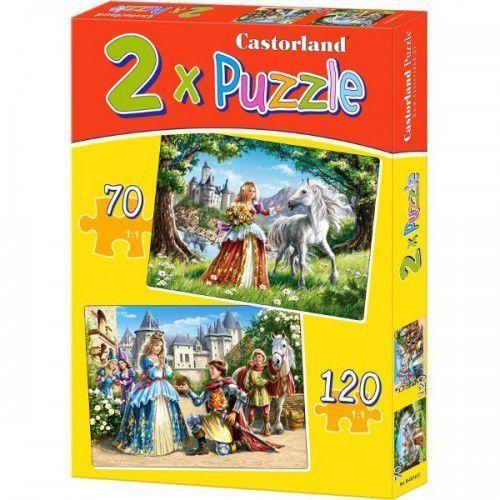 Puzzle x 2 - Czarujące księżniczki CASTOR