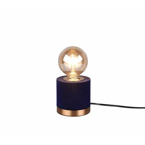 Trio RL Judy R50691012 lampa stołowa lampka 1x40W E27 niebieska/brązowa (4017807481068)