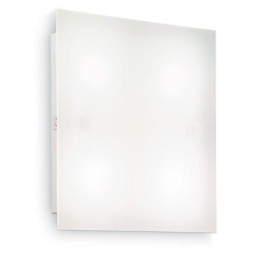 Plafon lampa sufitowa oprawa Ideal Lux Flat PL4 D40 4x15W GX53 biały 134901, 134901