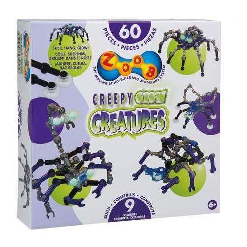 Zoob Klocki Creepy Glow Creature 60el 14003