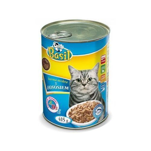Karma dla kota z łososiem basil 415g marki Hp
