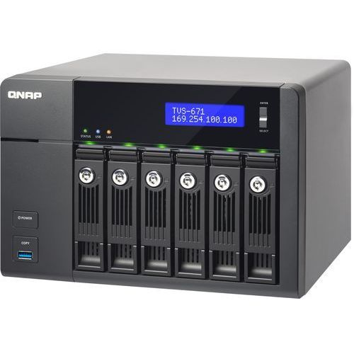 tvs-671-i5-8g - intel core i5 4590s / 8 gb / hdmi / 4 x gigabit lan / 6-dyskowy marki Qnap