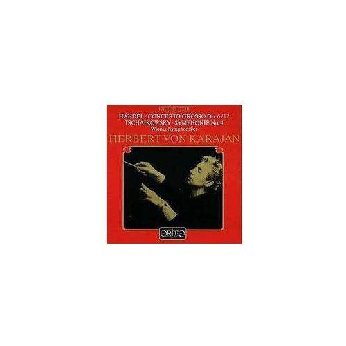 Czajkowski P / Handel G - Concerto Grosso Op. 6 / 12, Symph. 4 (muzyka klasyczna)